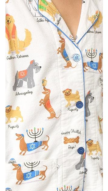PJ Salvage Happy Hanukkah PJ Set