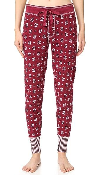 PJ Salvage Пижамные брюки Nordic Nostalgia