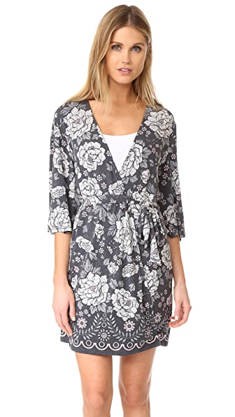 PJ Salvage Happy Flowers Robe