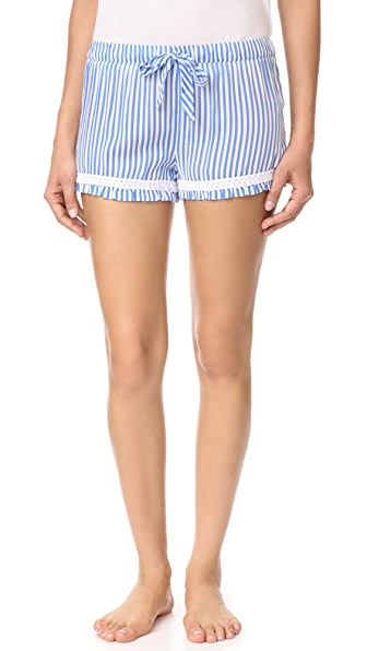 PJ Salvage Summer Stripes PJ Shorts - Denim