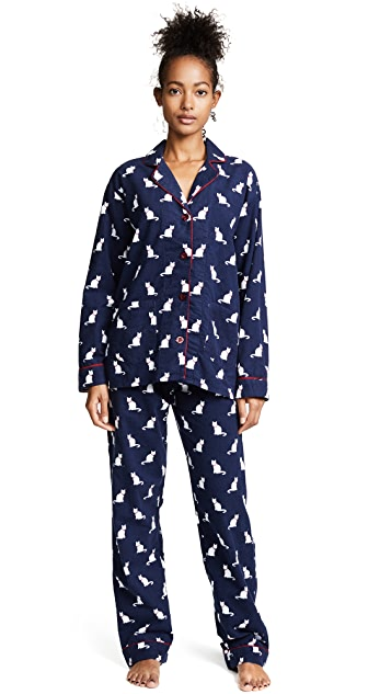 PJ Salvage Cats Pajamas Flannel PJ Set