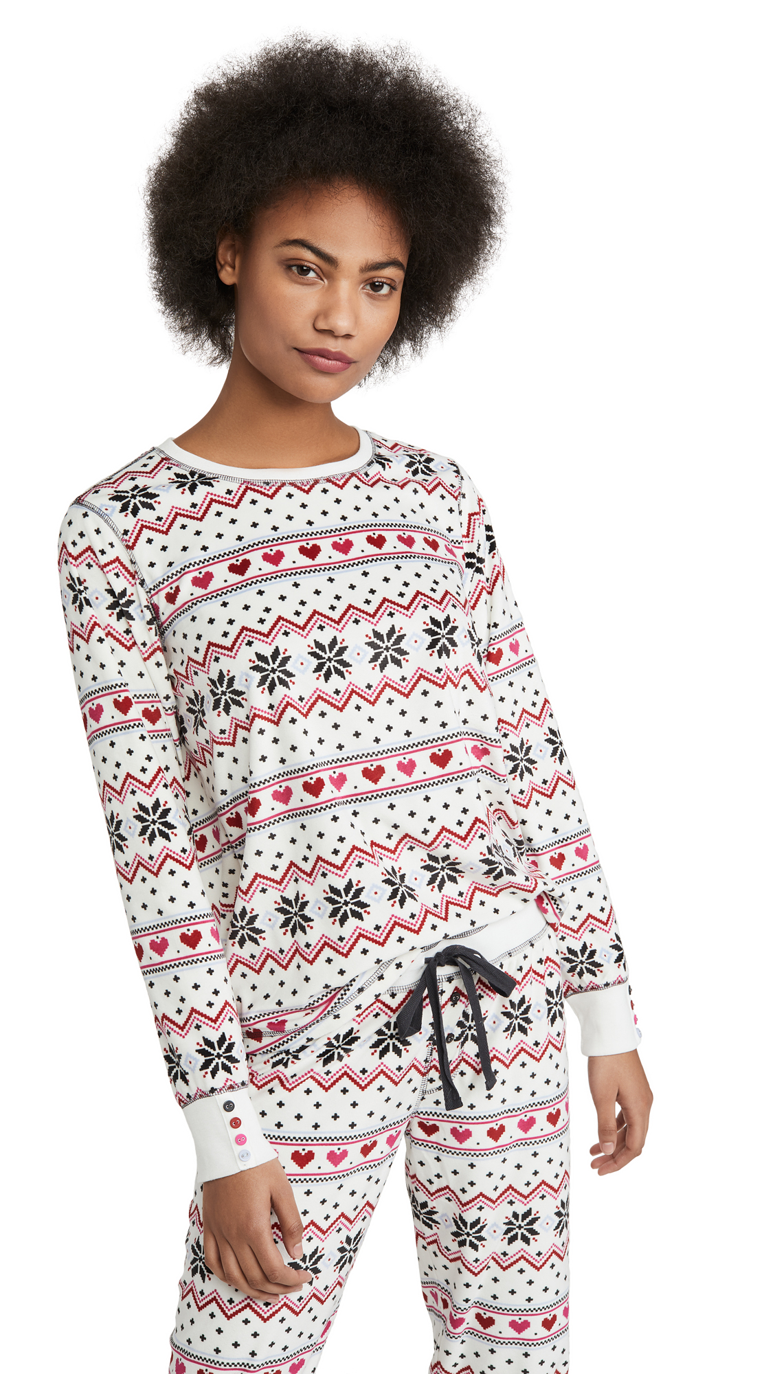 Buy PJ Salvage online - photo of PJ Salvage Holiday Love Long Sleeve Tee