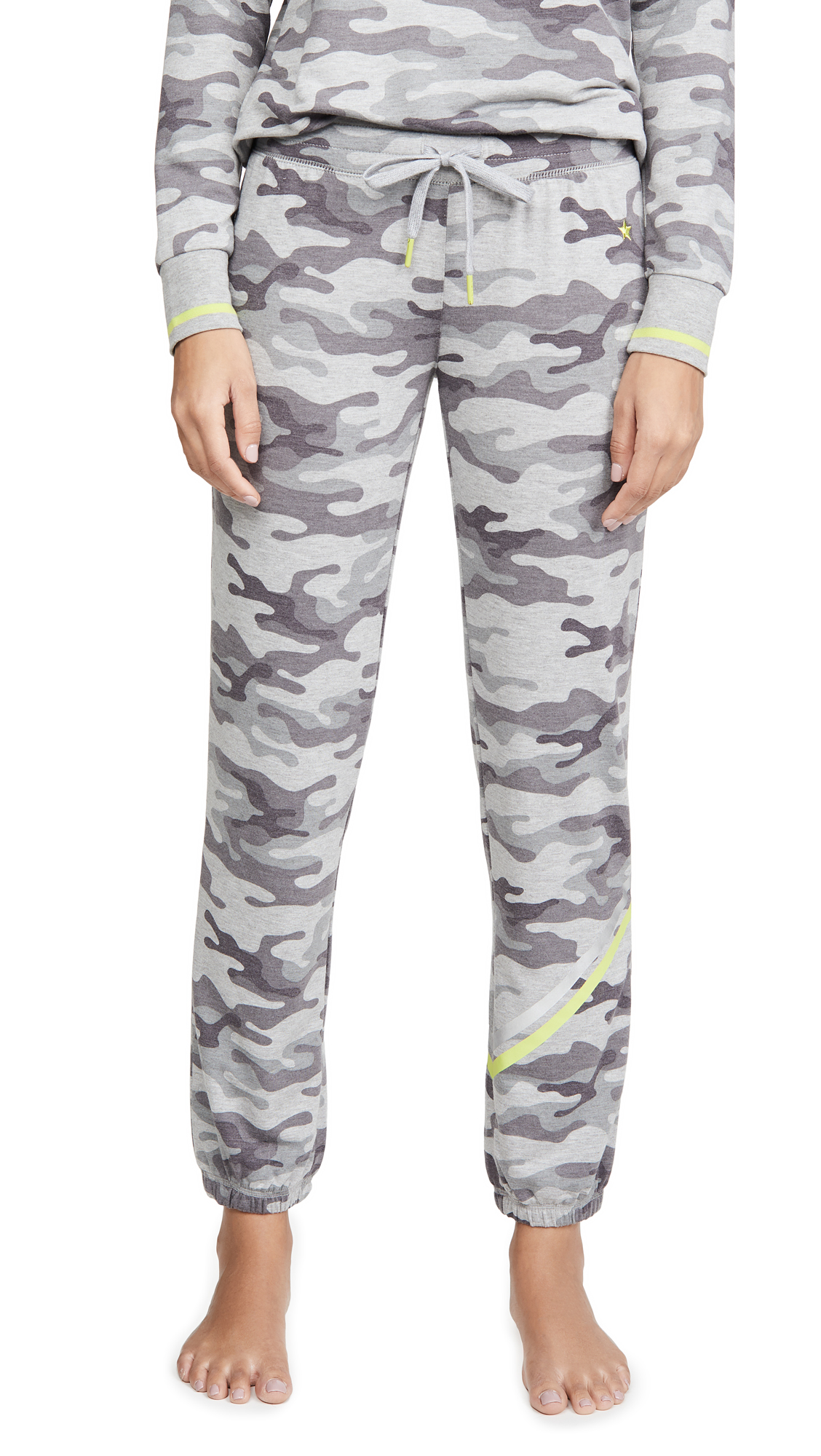 Buy PJ Salvage online - photo of PJ Salvage Neon Pop Camo PJ Pants