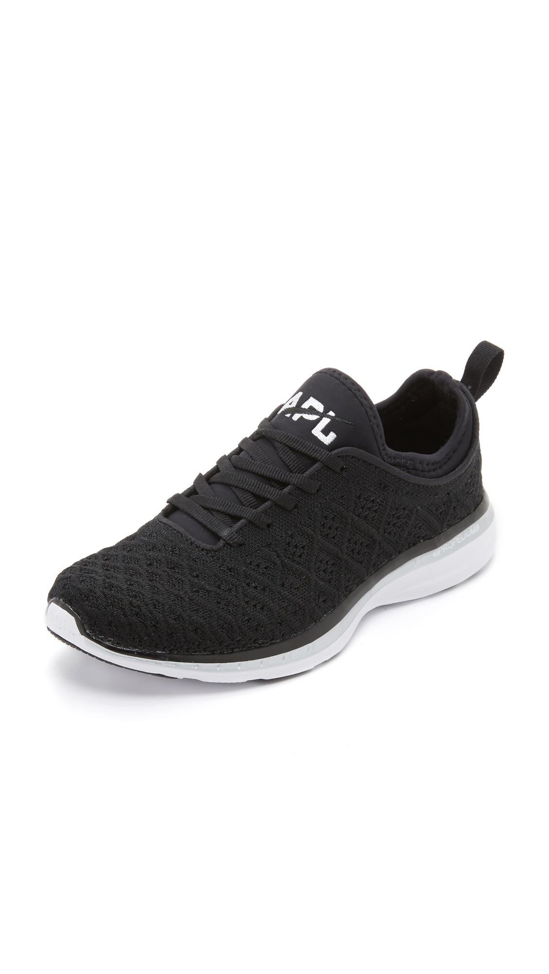 APL: Athletic Propulsion Labs Techloom Phantom Sneakers - Black/Metallic Silver