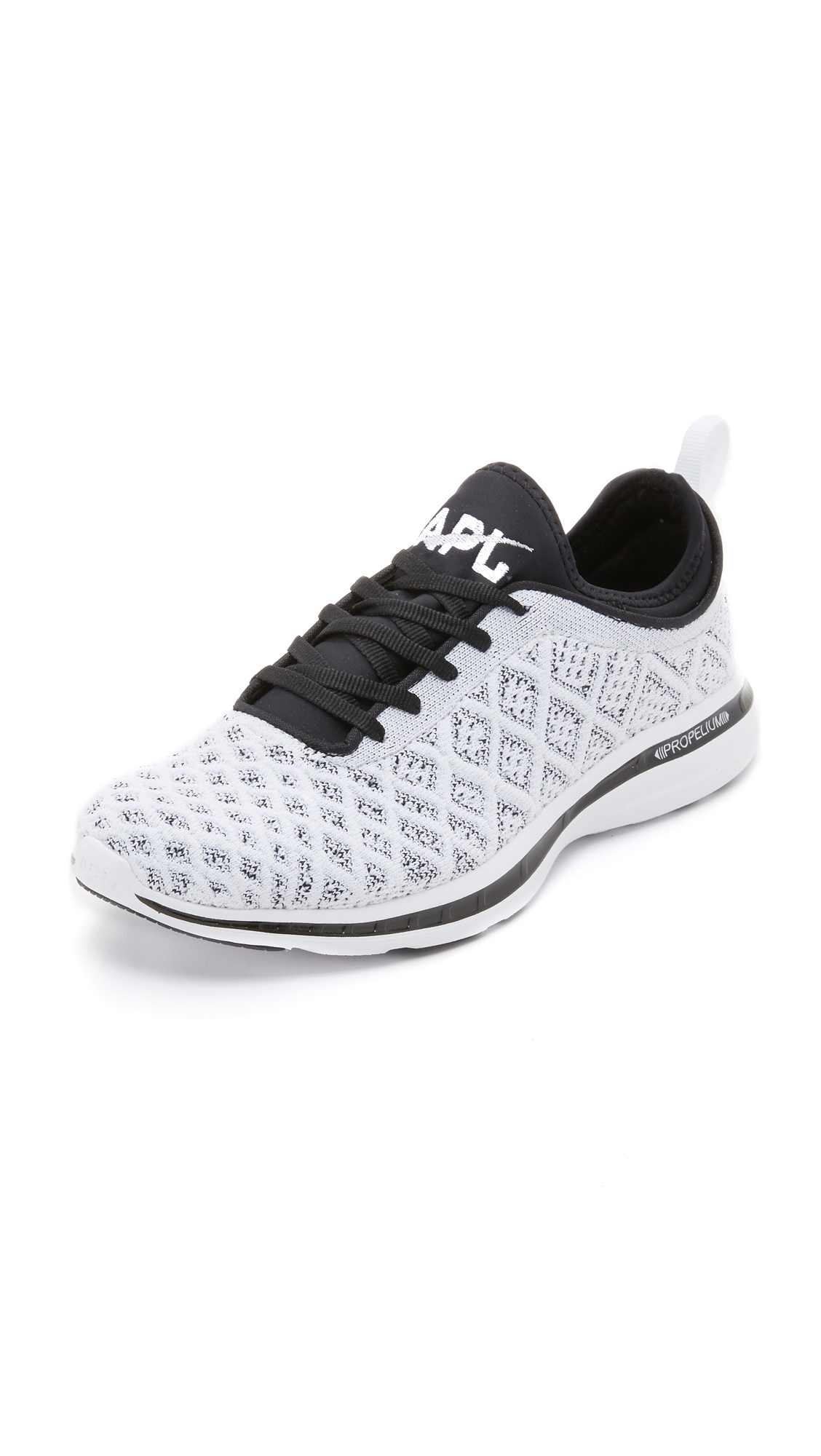 APL: Athletic Propulsion Labs Techloom Phantom Sneakers - White/Black