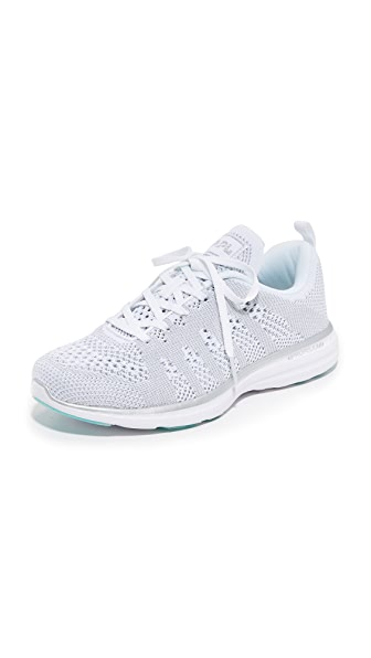 APL: Athletic Propulsion Labs Techloom Pro Sneakers - White/Silver