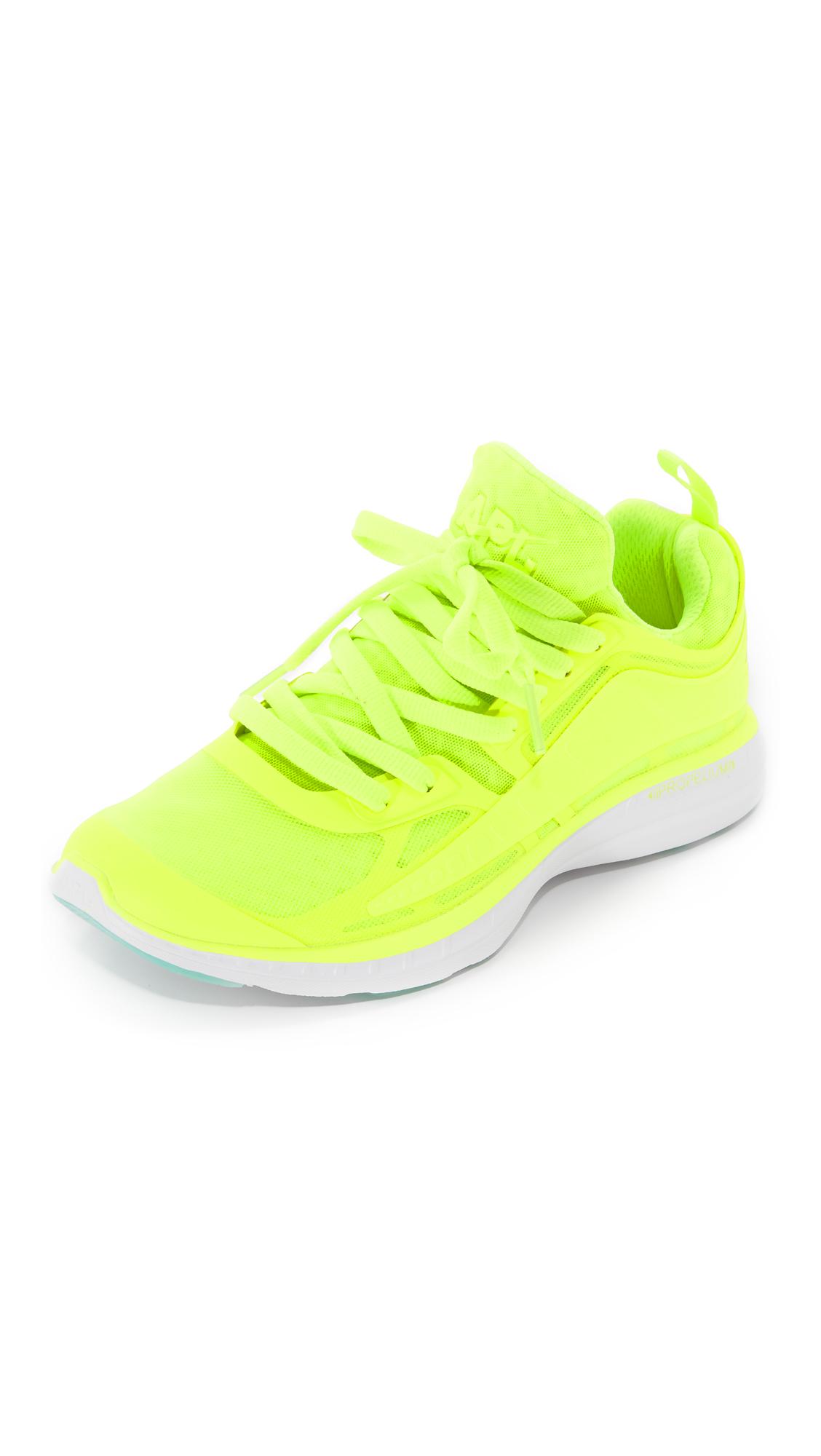 apl athletic propulsion labs female apl athletic propulsion labs prism sneakers energywhite