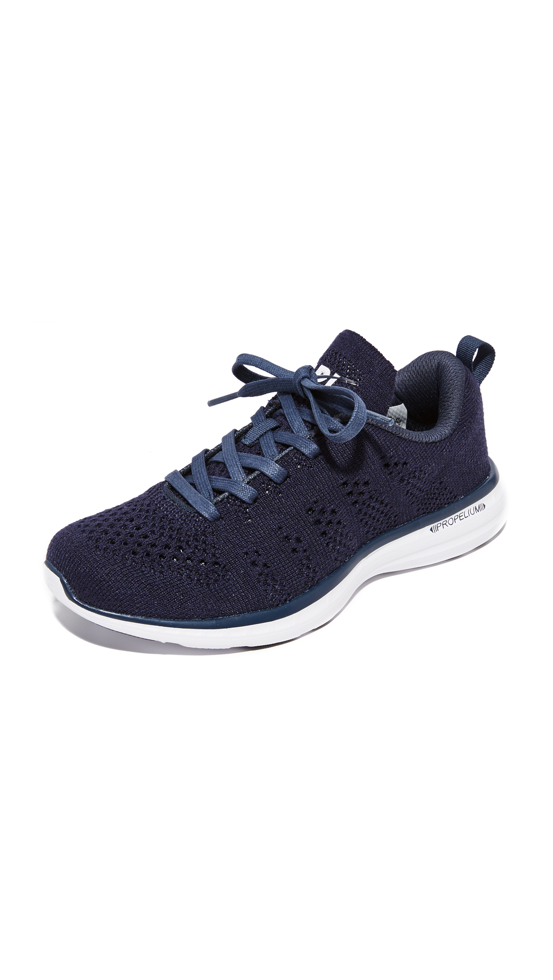 APL: Athletic Propulsion Labs Techloom Pro Cashmere Sneakers - Navy