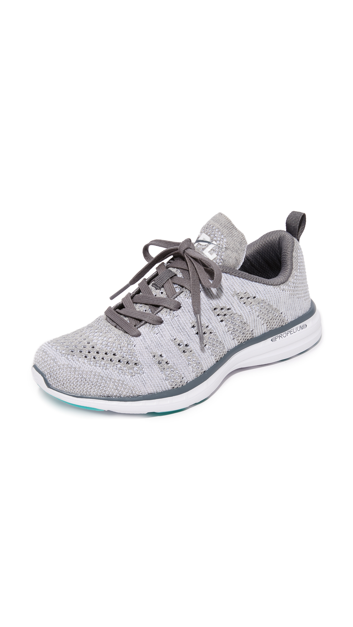 APL: Athletic Propulsion Labs Techloom Pro Cashmere Sneakers - Grey