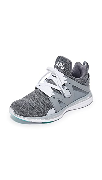 APL: Athletic Propulsion Labs Ascend Sneakers - Cosmic Grey/Metallic Silver