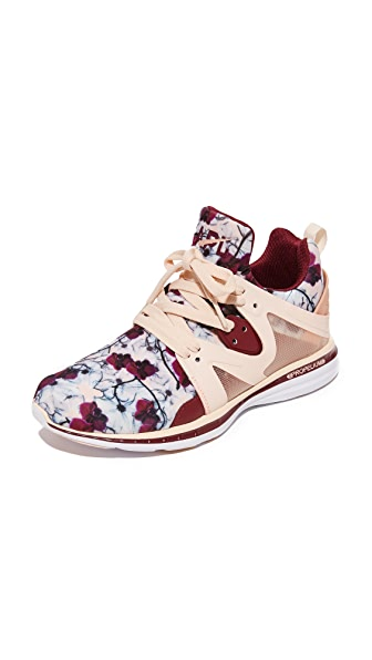 APL: Athletic Propulsion Labs Ascend Sneakers - Blush/Floral Red