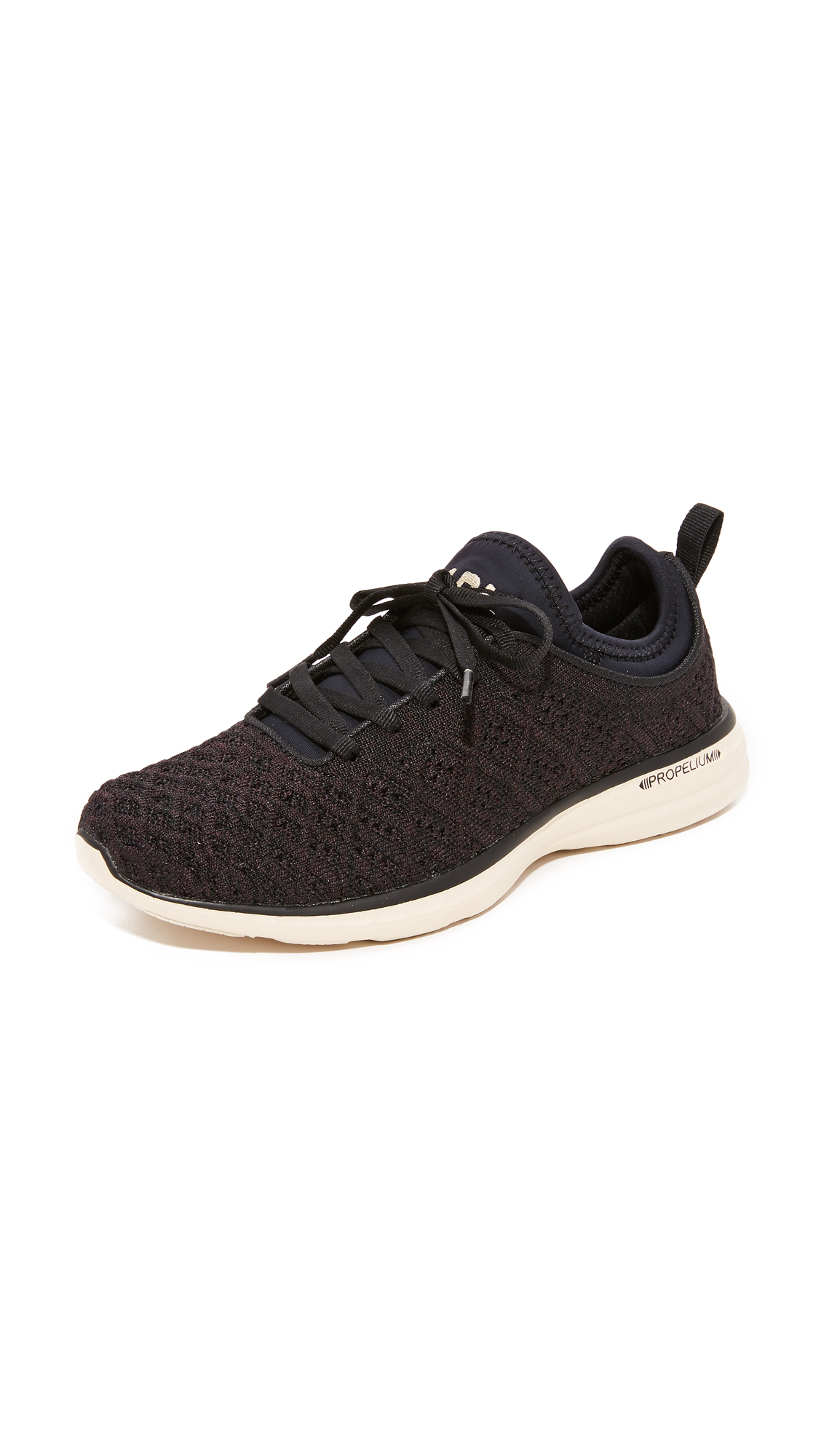 APL: Athletic Propulsion Labs Techloom Phantom Sneakers - Black Parchment