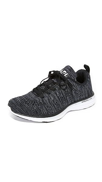 APL: Athletic Propulsion Labs TechLoom Pro Sneakers - Black/Cosmic Grey/White