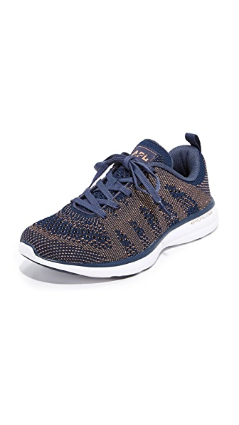 APL: Athletic Propulsion Labs TechLoom Pro Sneakers - Midnight/Rose Gold