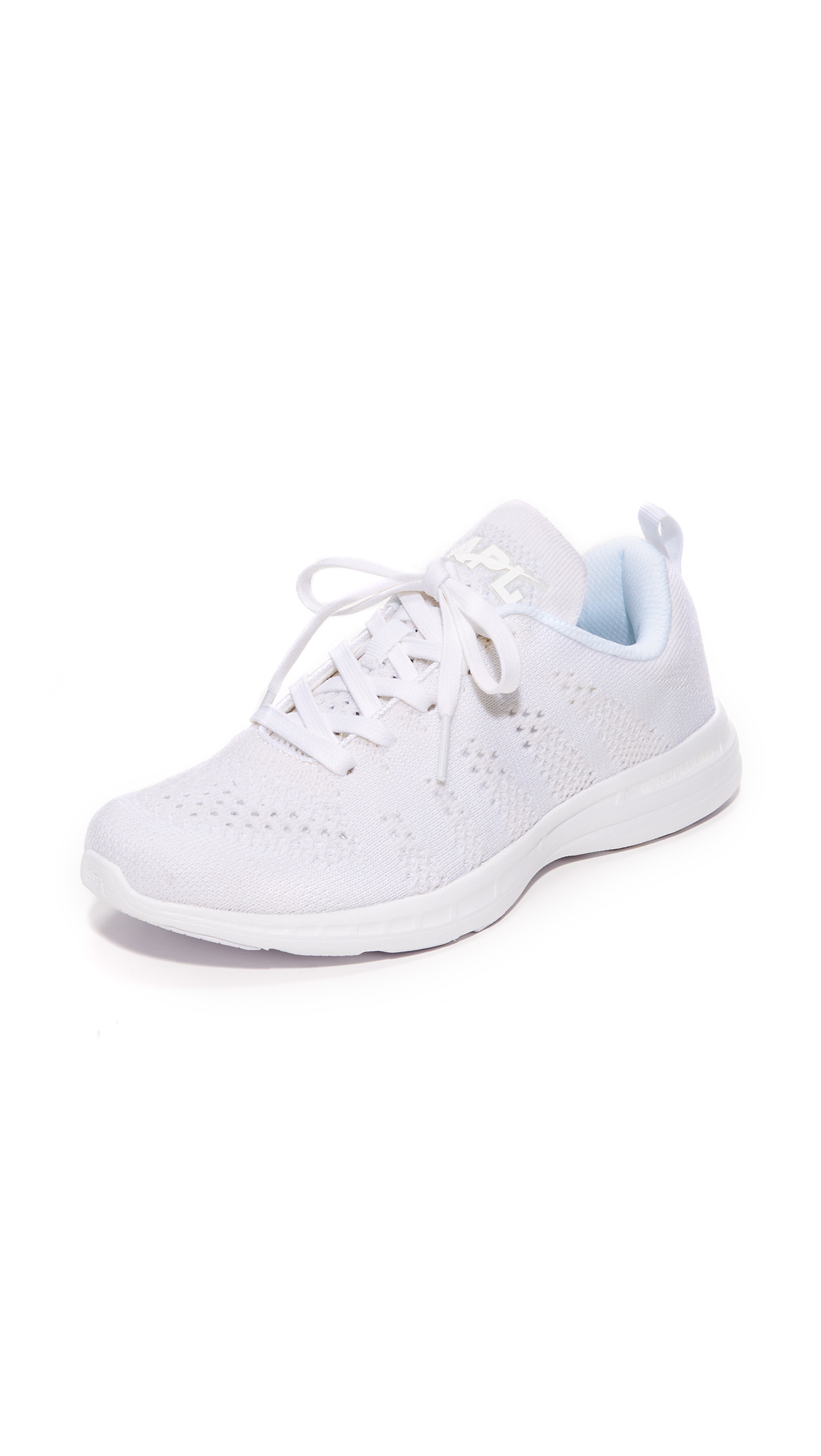 APL: Athletic Propulsion Labs Techloom Pro Cashmere Sneakers - White