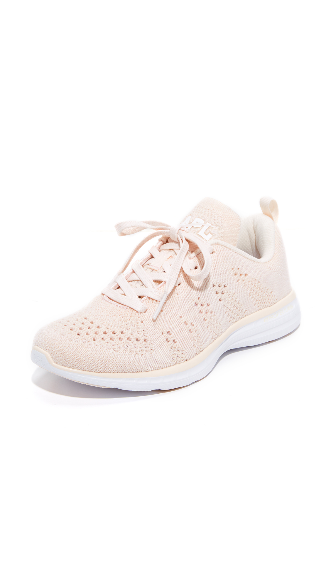 APL: Athletic Propulsion Labs Techloom Pro Cashmere Sneakers - Nude