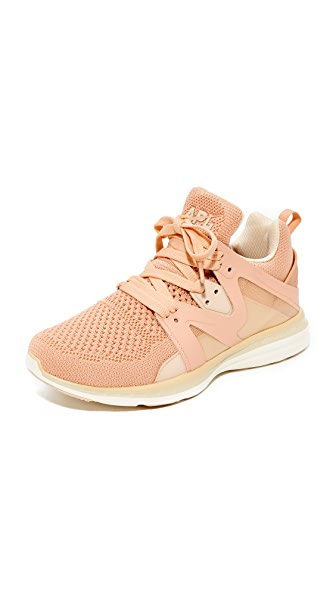 APL: Athletic Propulsion Labs Ascend Sneakers - Blush/Cream