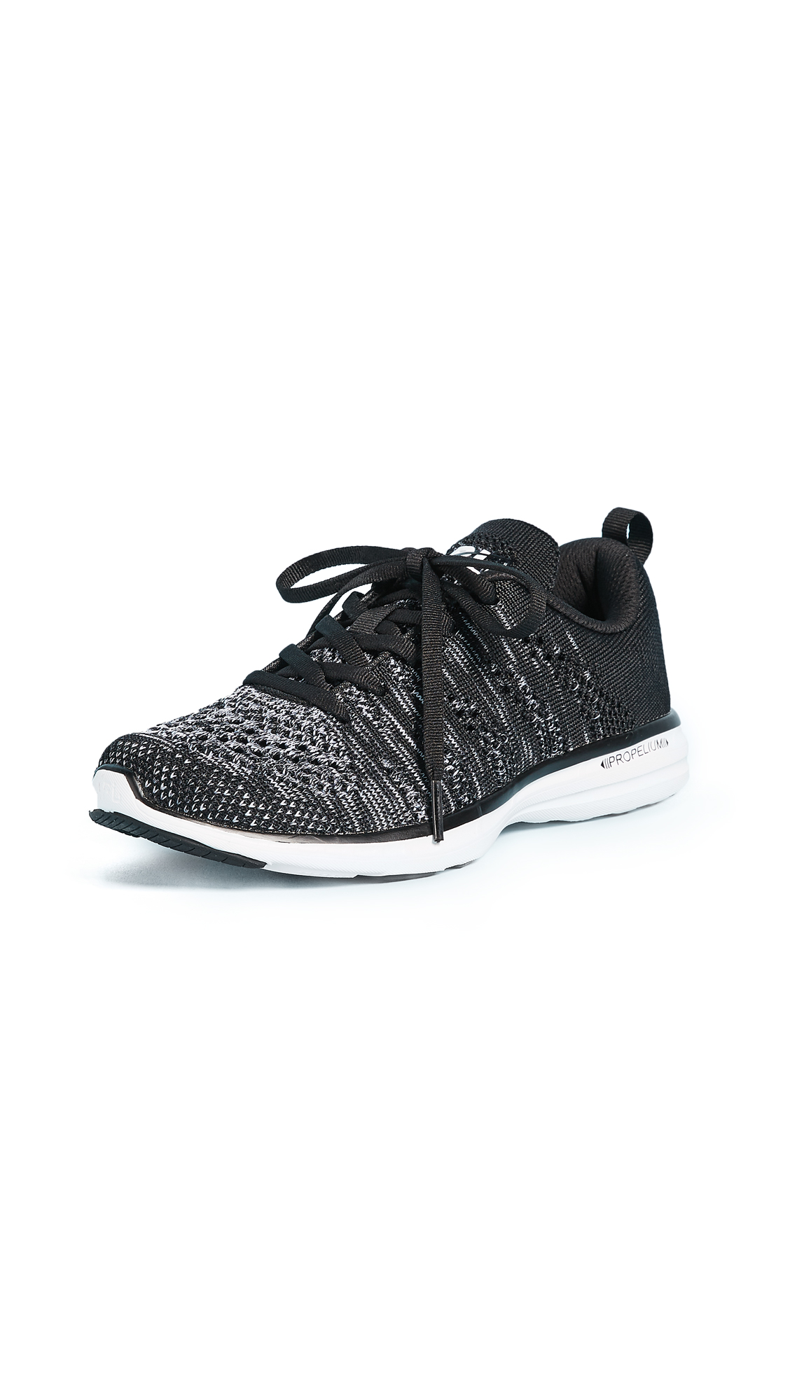 APL: Athletic Propulsion Labs TechLoom Pro Sneakers - Black/Faded White