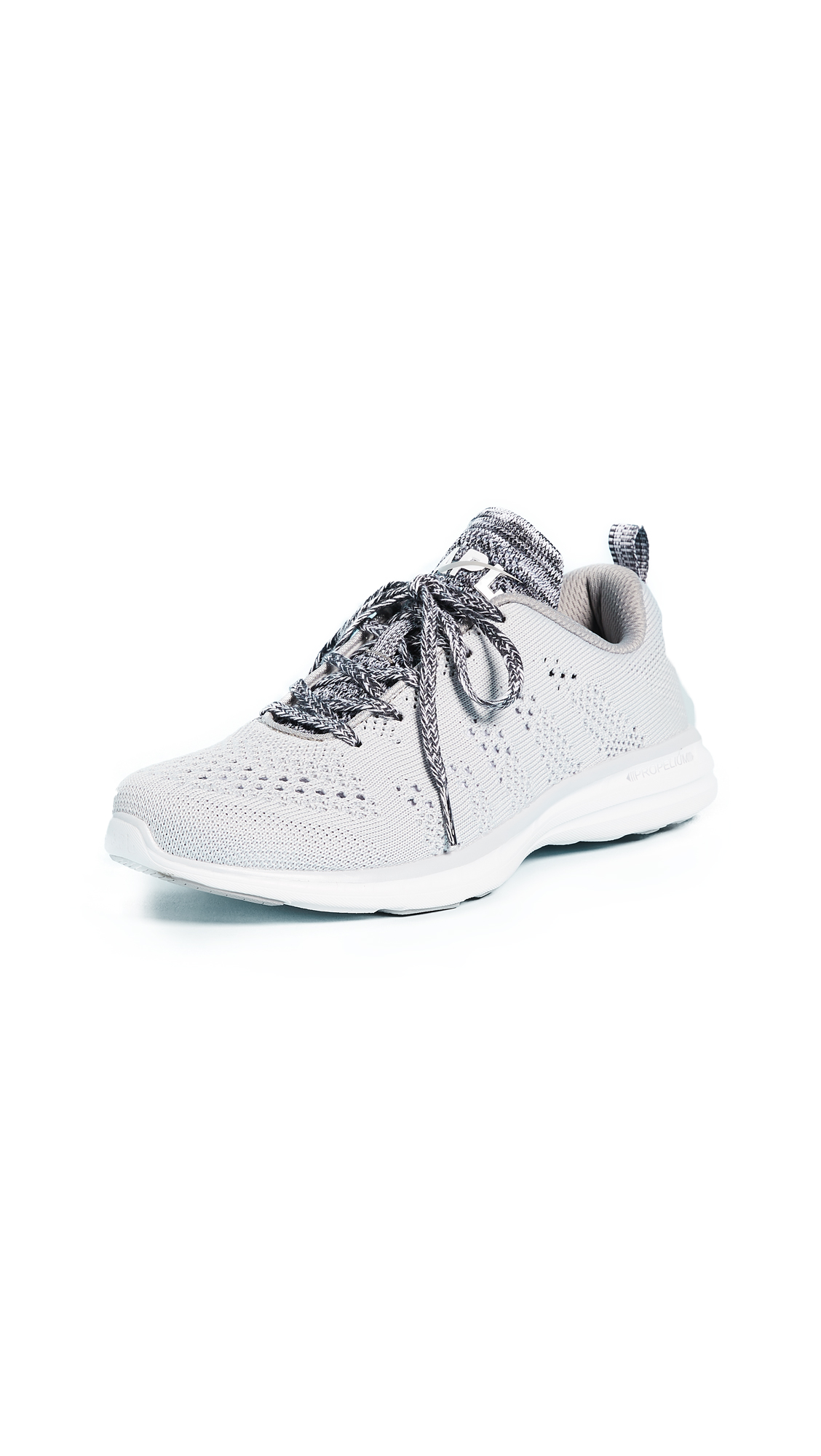 APL: Athletic Propulsion Labs TechLoom Pro Sneakers - Steel Grey/Heather Grey