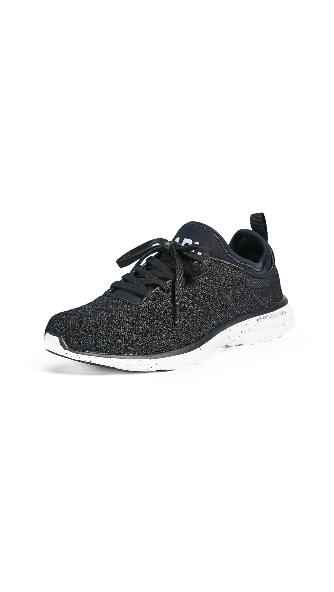 APL: Athletic Propulsion Labs TechLoom Phantom Sneakers - Black/Speckle