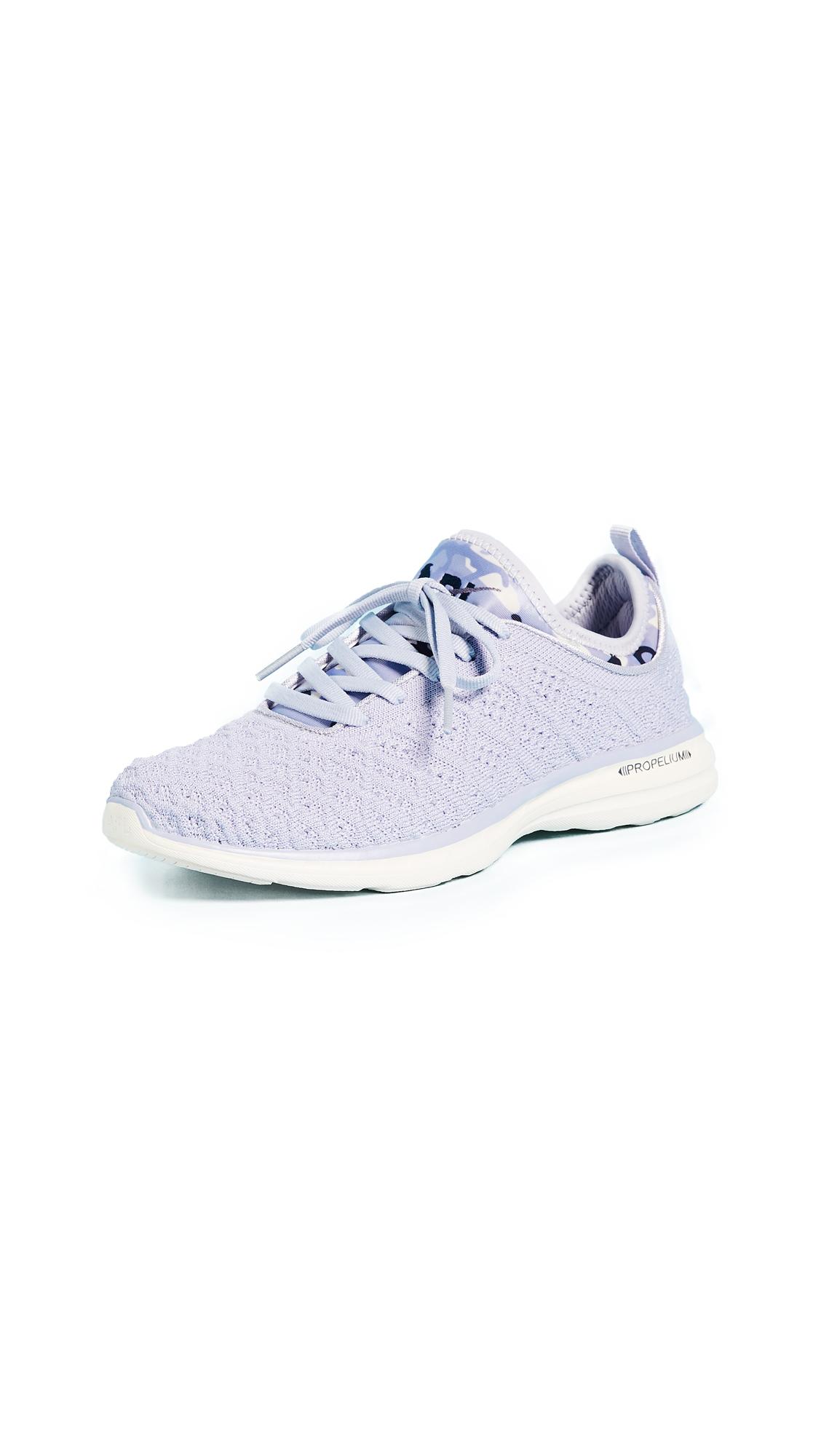 APL: Athletic Propulsion Labs TechLoom Phantom Sneakers - Faded Lavender/Parchment