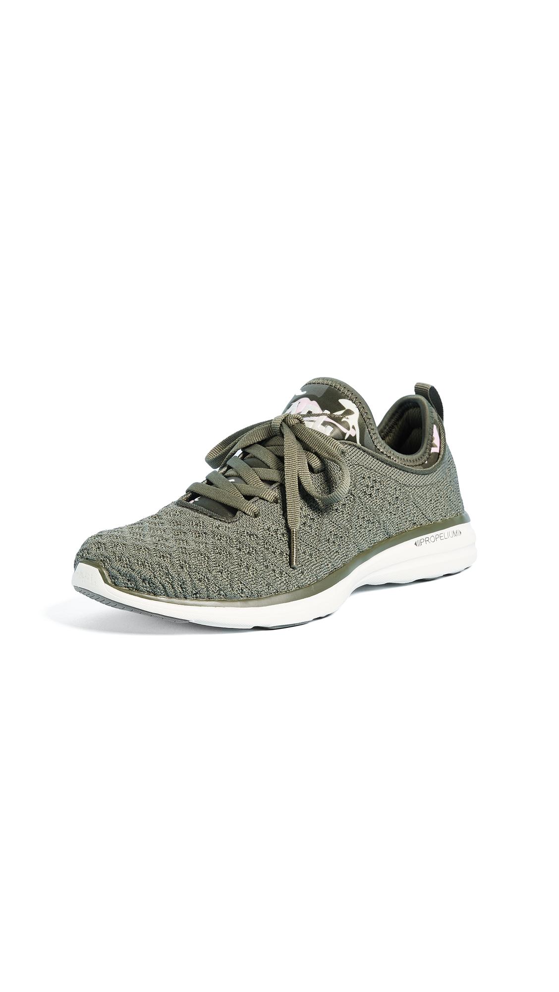 APL: Athletic Propulsion Labs TechLoom Phantom Sneakers - Fatigue/Pristine/Soft Pink