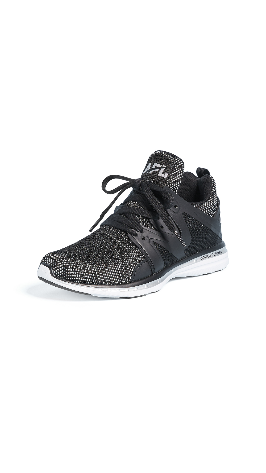 APL: Athletic Propulsion Labs Ascend Sneakers - Black/Chrome