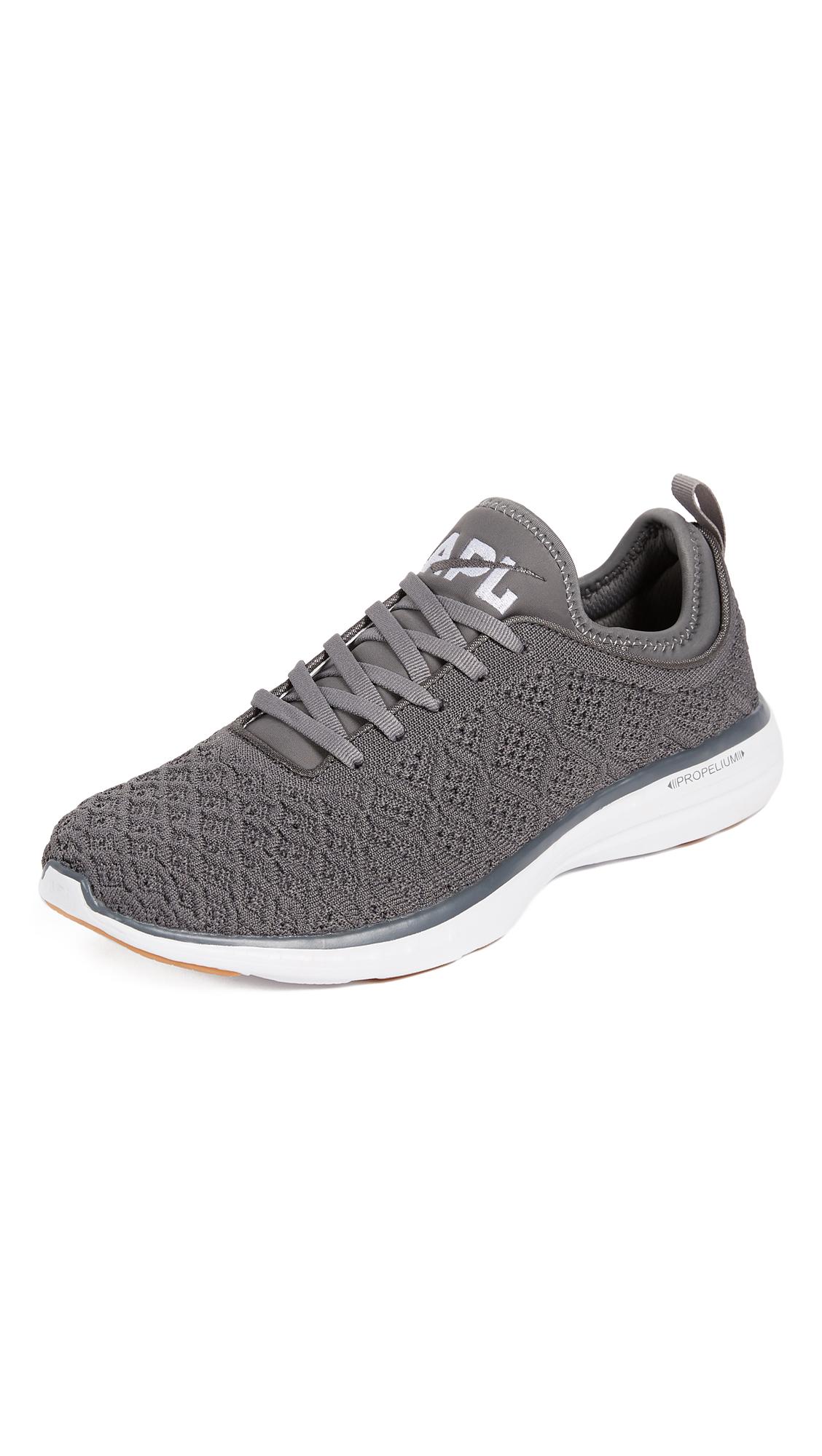 1440a145b1c Apl Athletic Propulsion Labs Techloom Phantom Running Sneakers In  Gunmetal White Gum