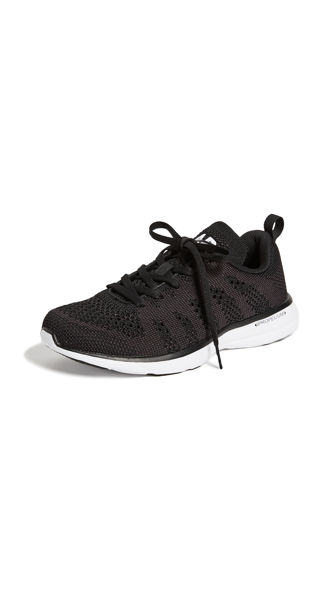 APL: Athletic Propulsion Labs TechLoom Pro Sneakers - Black/White/Black