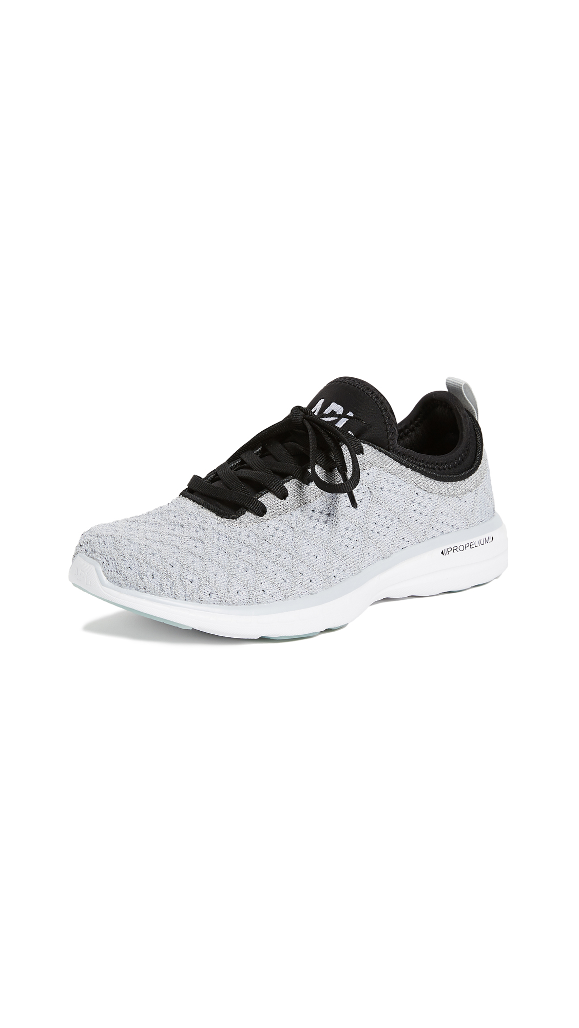 APL: Athletic Propulsion Labs TechLoom Phantom Sneakers - Steel Grey/Black/Reflective