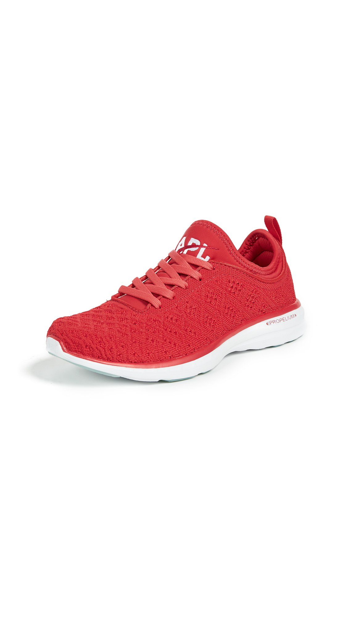 APL: Athletic Propulsion Labs TechLoom Phantom Sneakers - Red/White