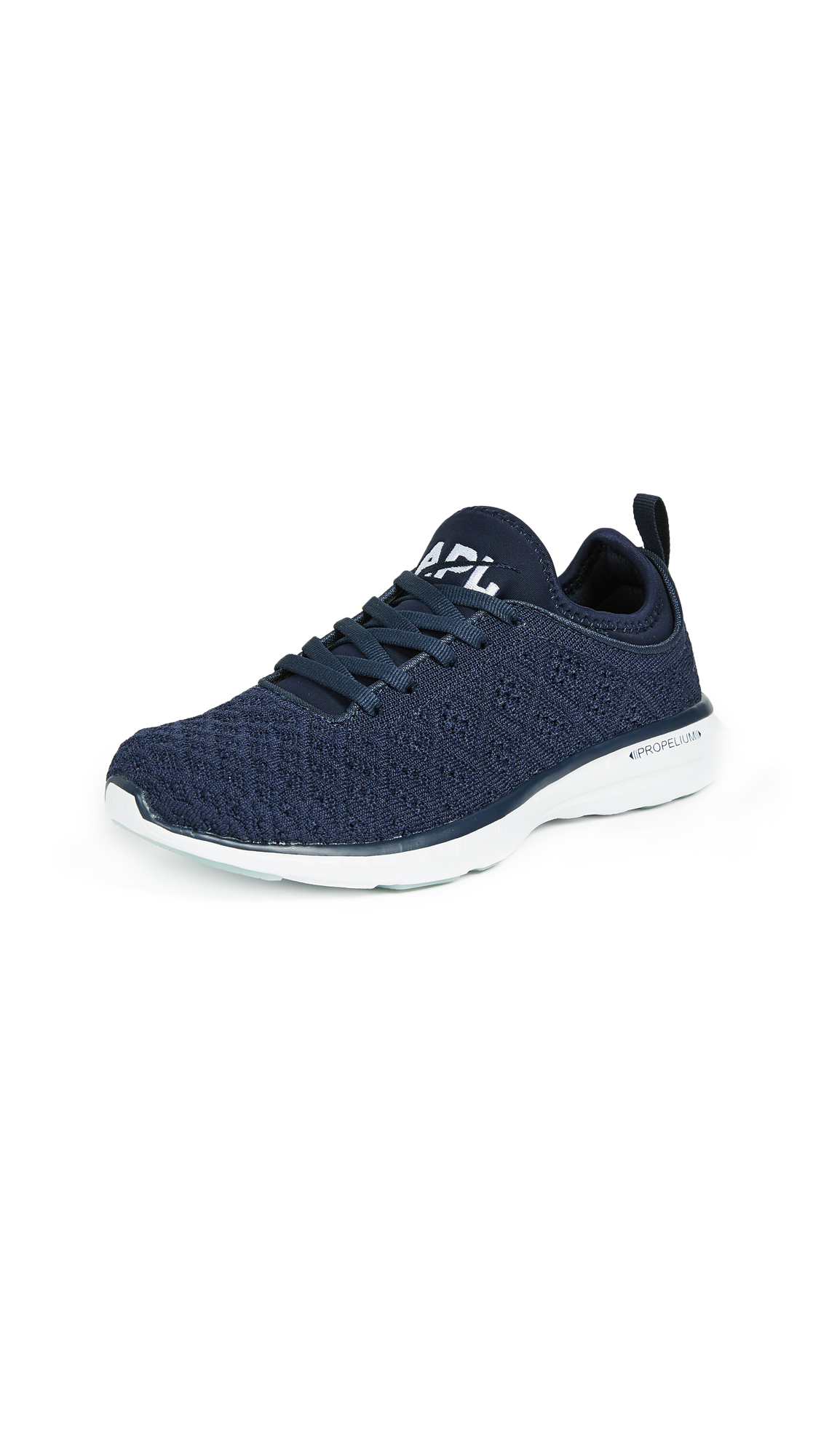 APL: Athletic Propulsion Labs TechLoom Phantom Sneakers - Navy/White