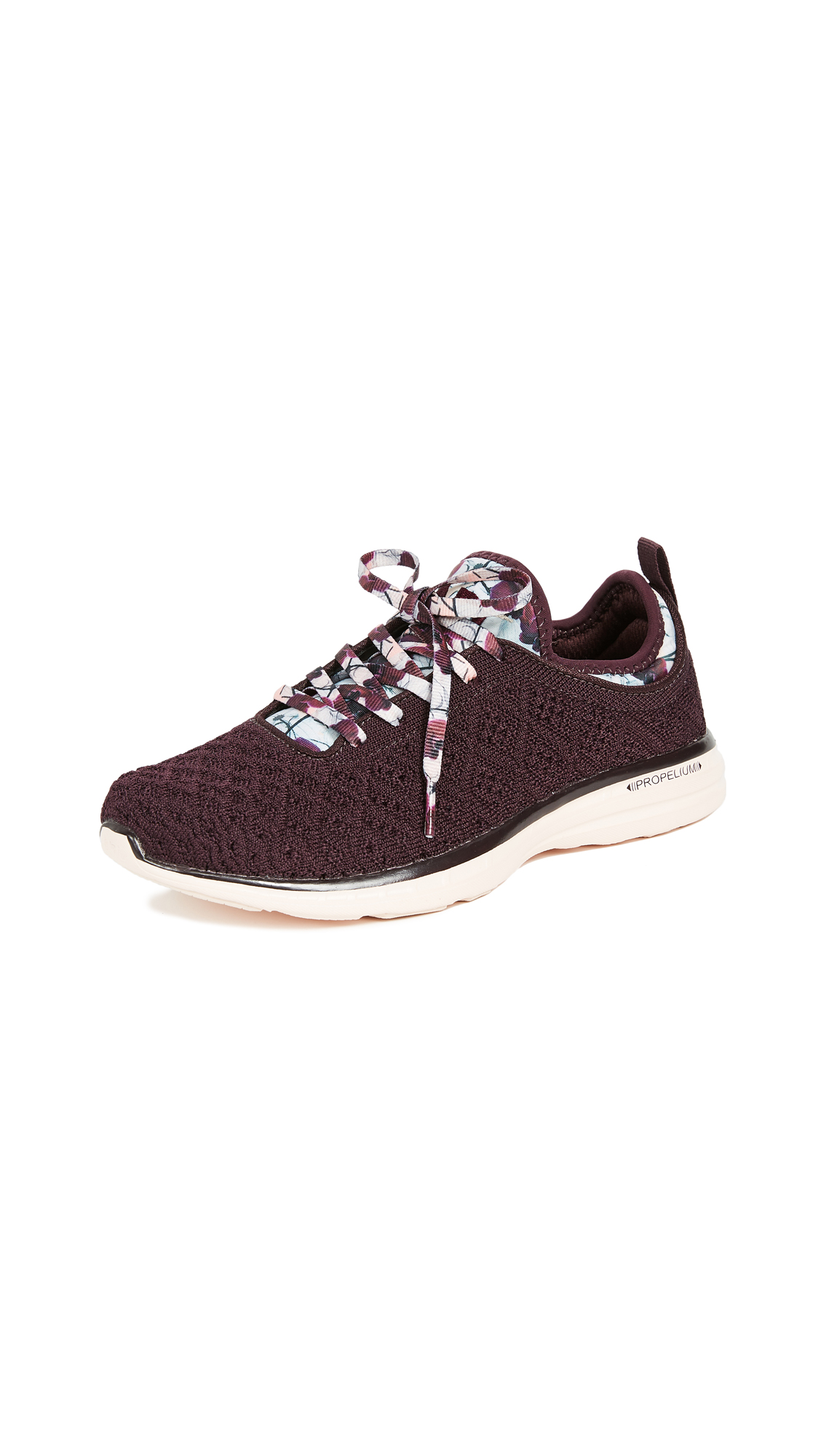 APL: Athletic Propulsion Labs TechLoom Phantom Sneakers - Plum/Opaque Peach