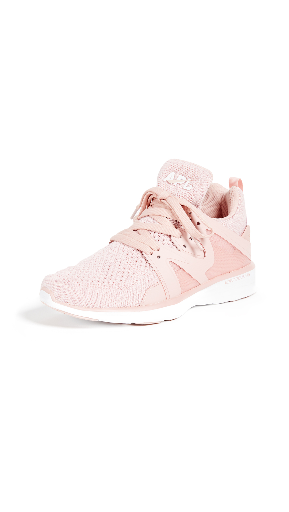 APL: Athletic Propulsion Labs Ascend Sneakers - Dusty Rose/White
