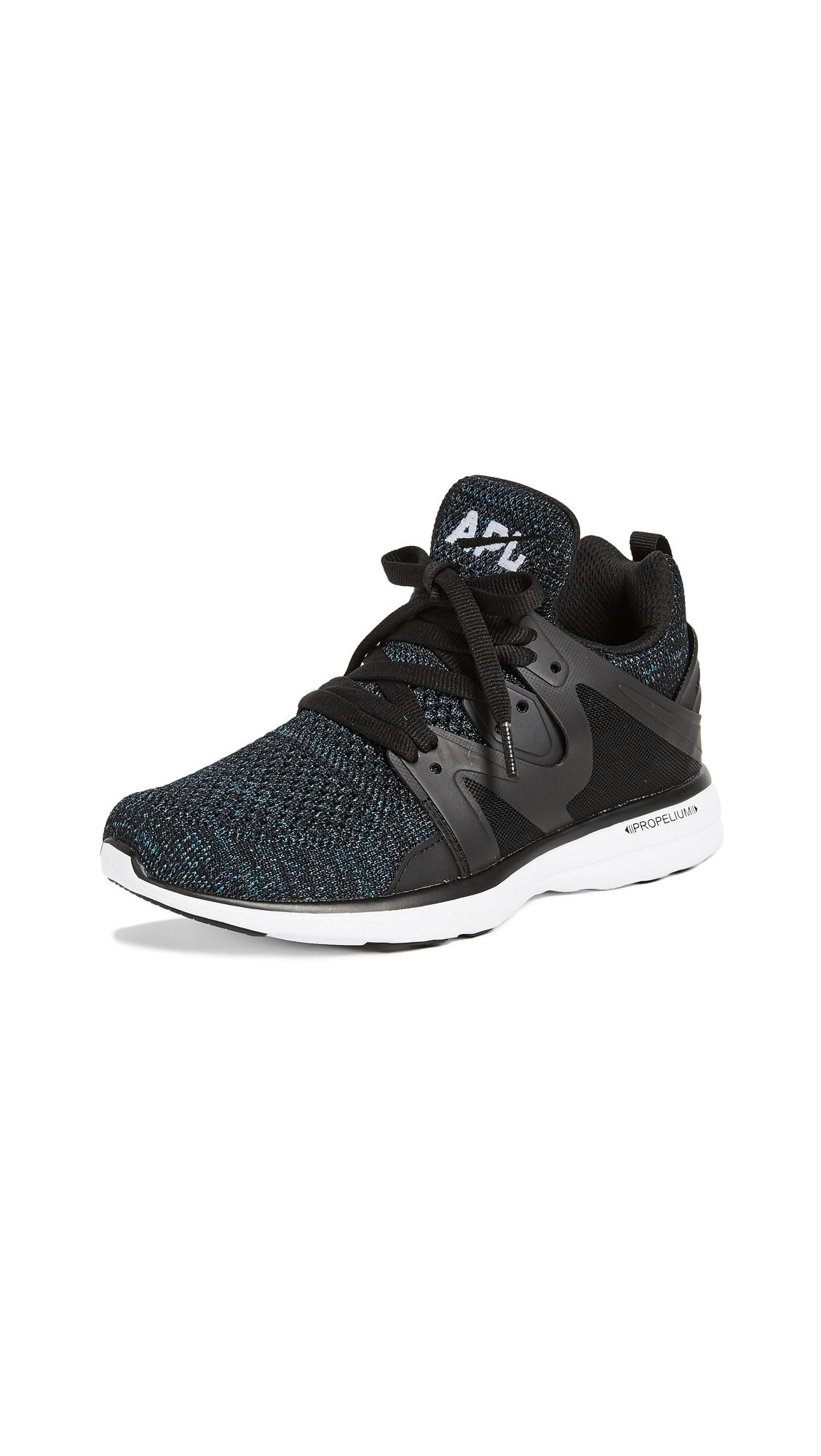 APL: Athletic Propulsion Labs Ascend Sneakers - Black/Iridescent