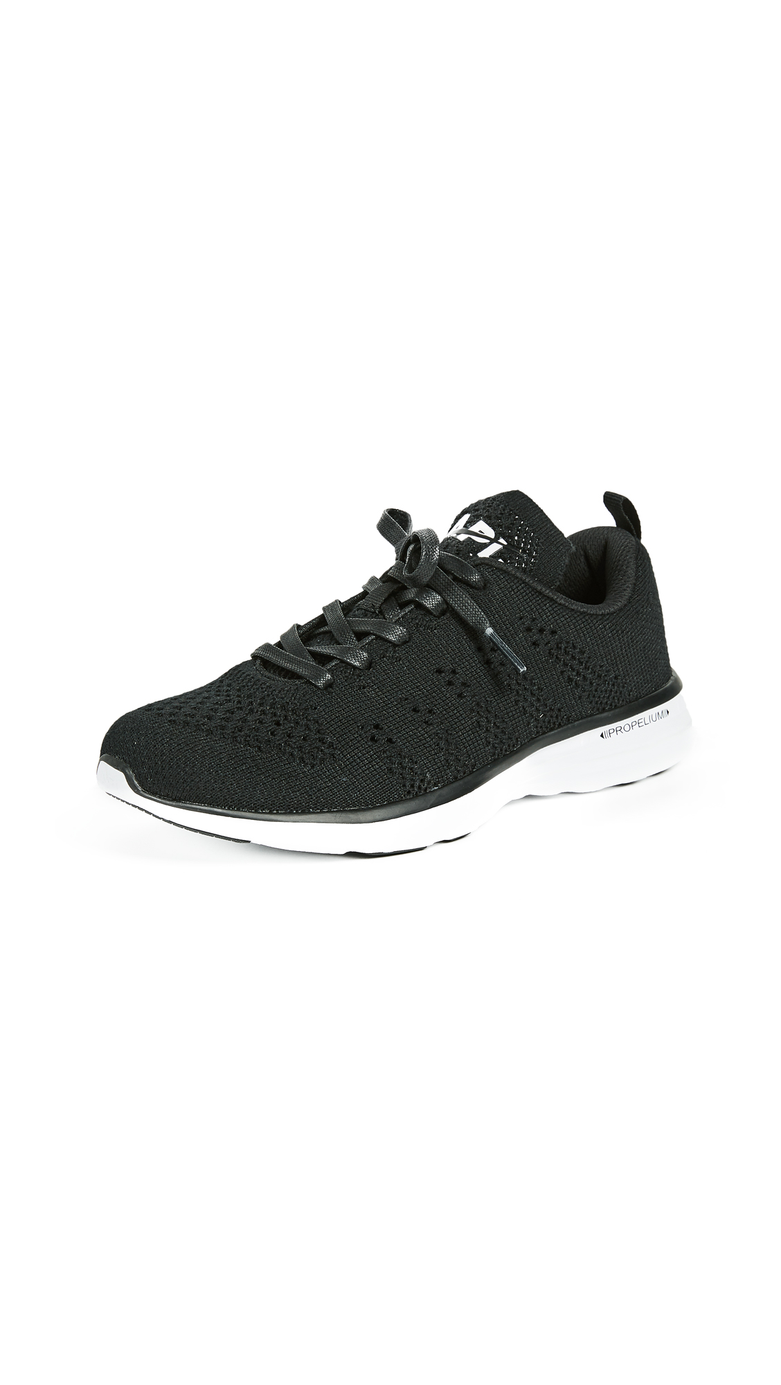 APL: Athletic Propulsion Labs TechLoom Pro Cashmere Sneakers - Black