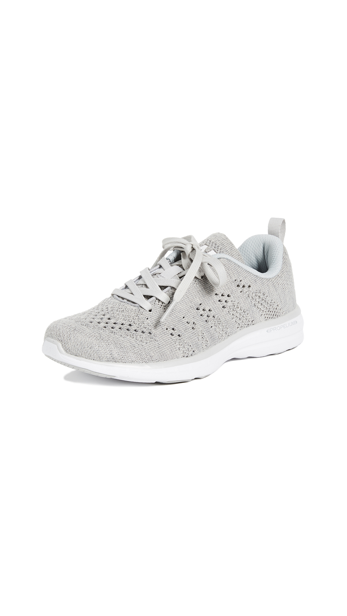 APL: Athletic Propulsion Labs TechLoom Pro Cashmere Sneakers - Heather Grey