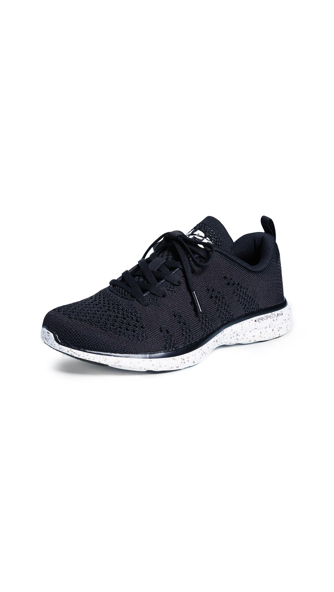 APL: Athletic Propulsion Labs Techloom Pro Sneakers - Black/Metallic Speckle