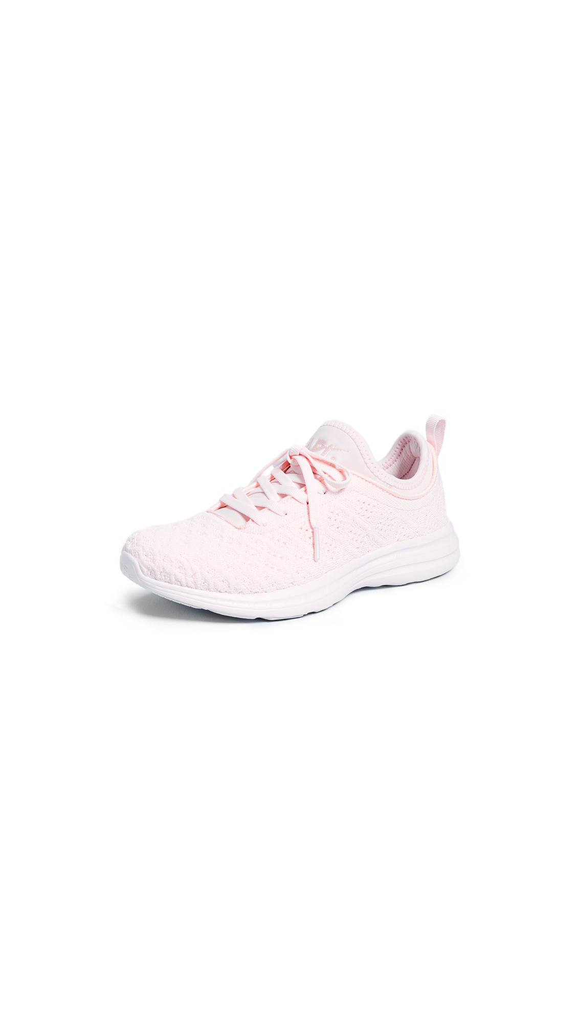 APL: Athletic Propulsion Labs Techloom Phantom Sneakers - Bleached Pink