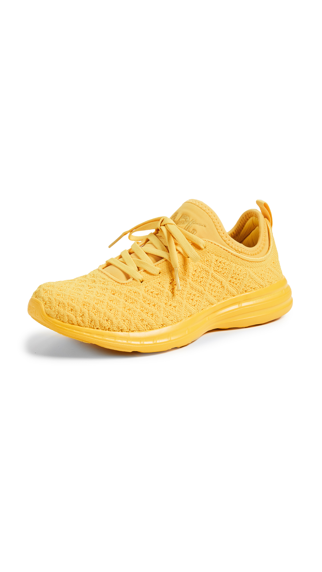 APL: Athletic Propulsion Labs Techloom Phantom Sneakers - Racing Yellow