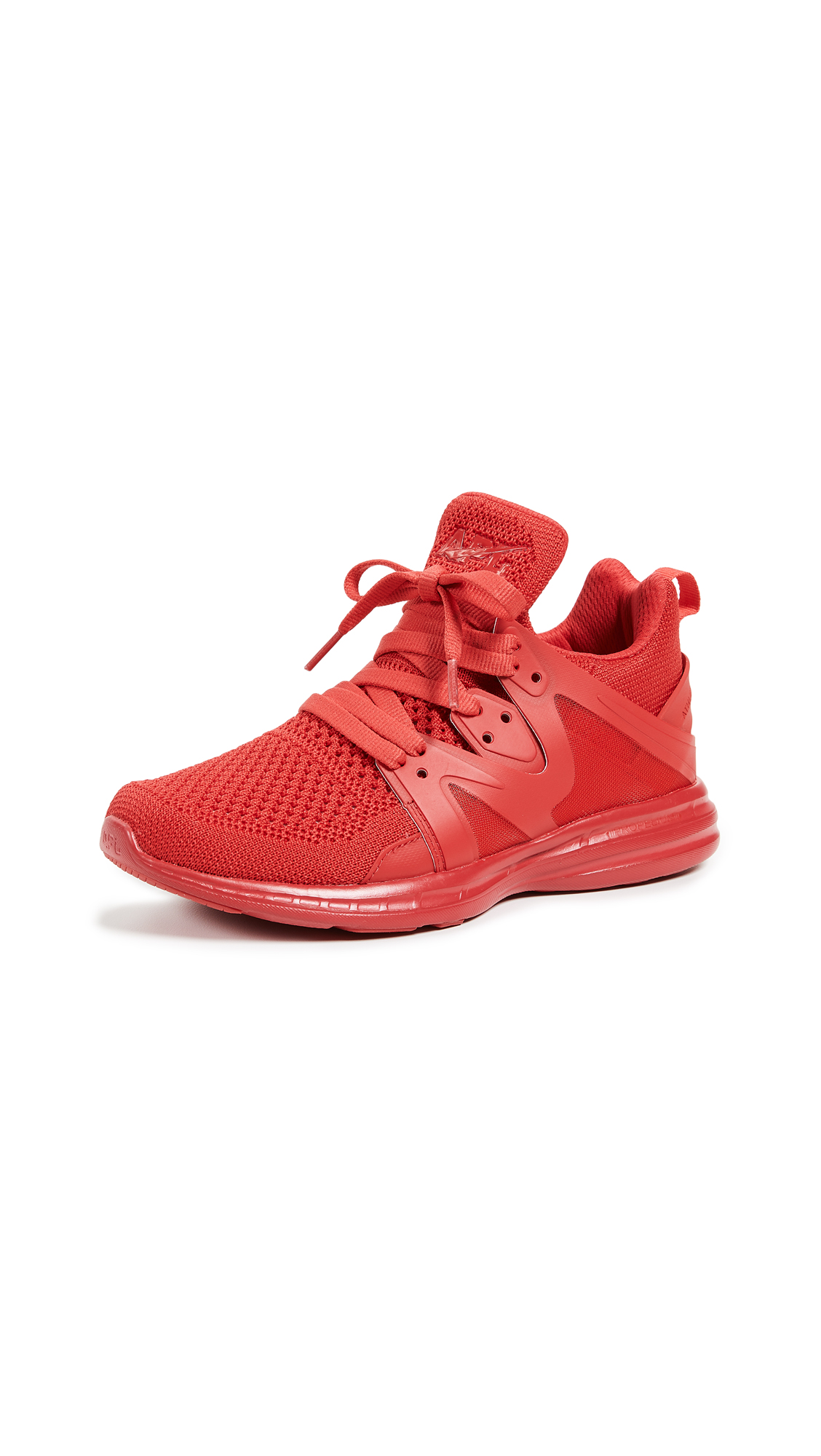 APL: Athletic Propulsion Labs Ascend Sneakers - Red/Red