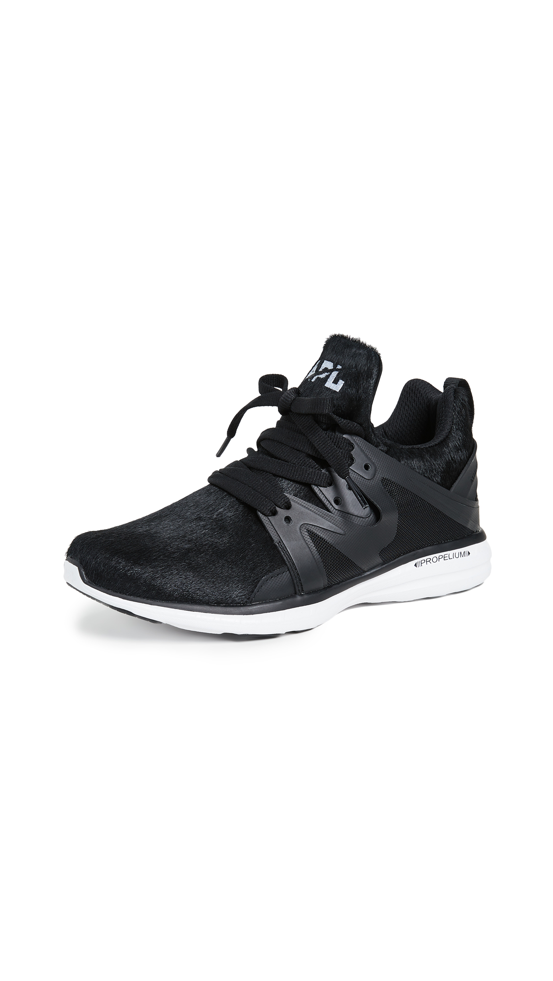 APL: Athletic Propulsion Labs Ascend Haircalf Sneakers - Black