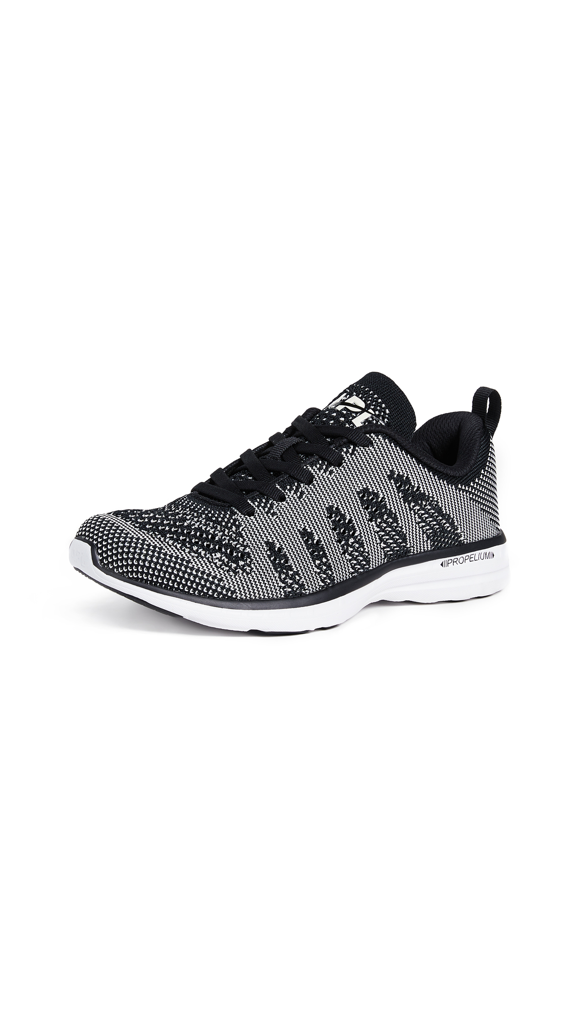 APL: Athletic Propulsion Labs TechLoom Pro Sneakers - Black/Pristine/White
