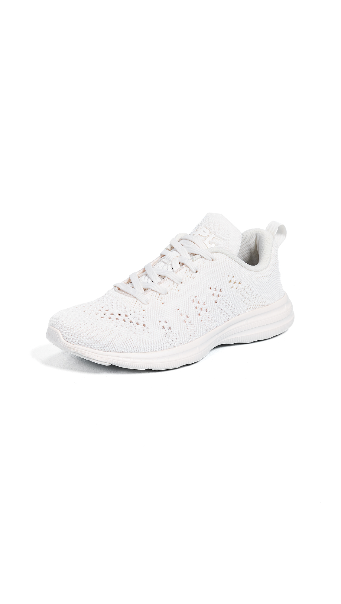 APL: Athletic Propulsion Labs TechLoom Pro Sneakers - Sea Salt