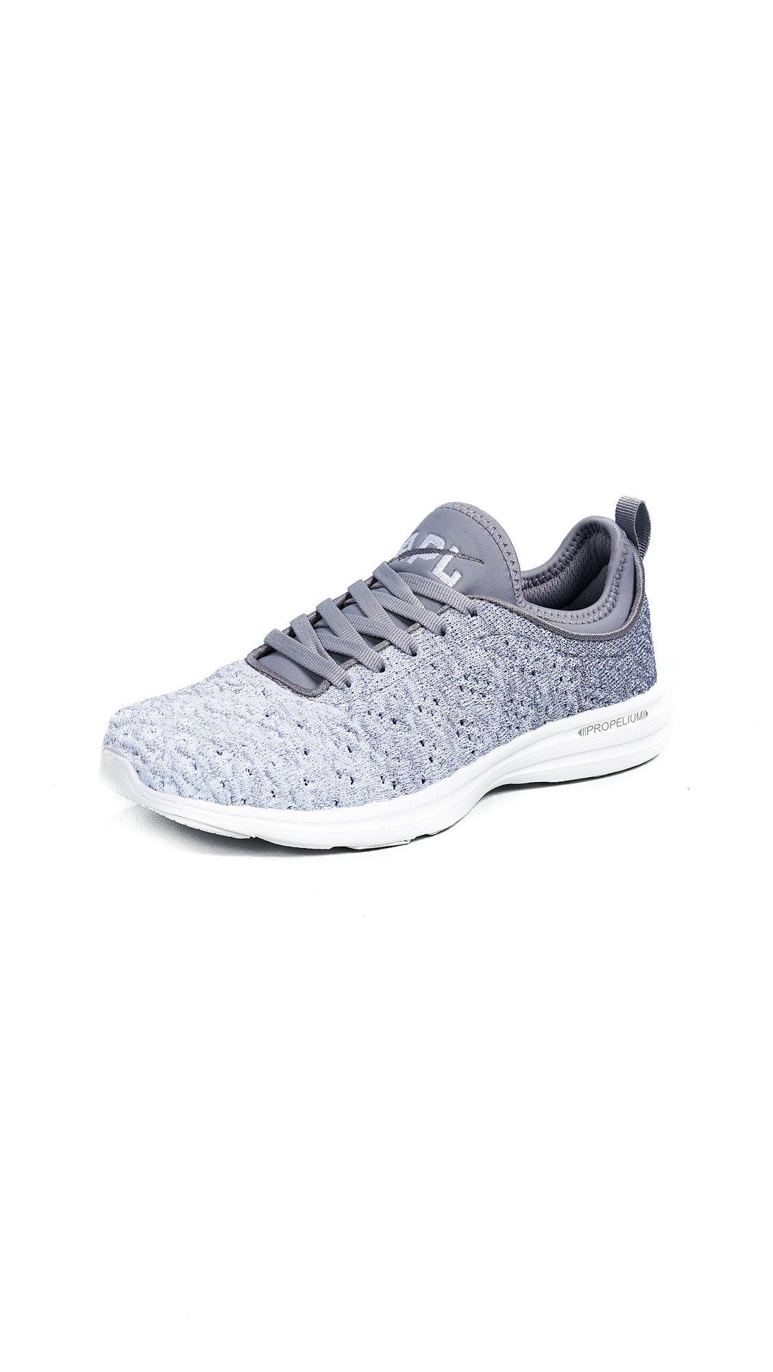 APL: Athletic Propulsion Labs TechLoom Phantom Sneakers - Gunmetal/White Ombre
