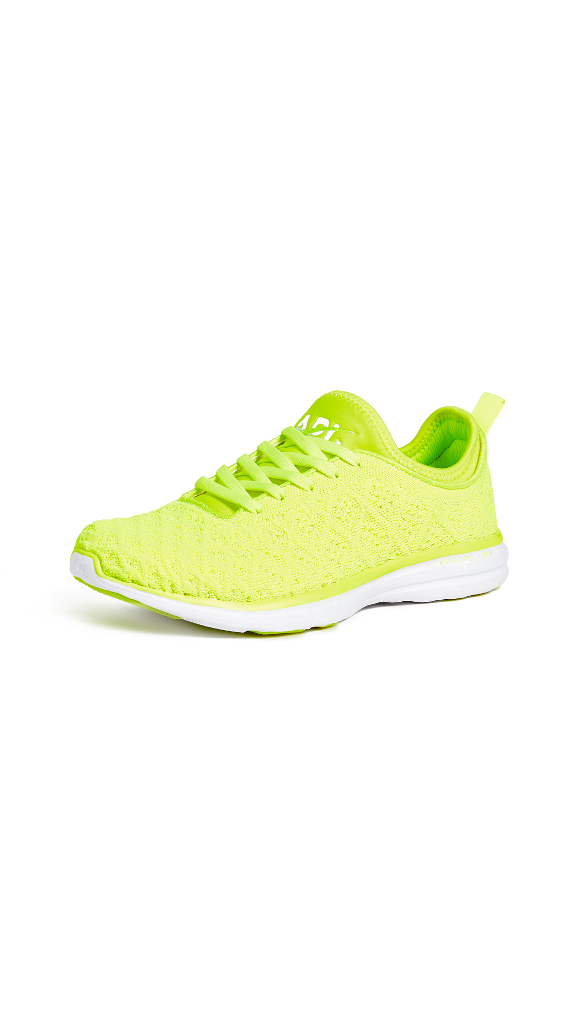 APL: Athletic Propulsion Labs TechLoom Phantom Sneakers - Energy/White