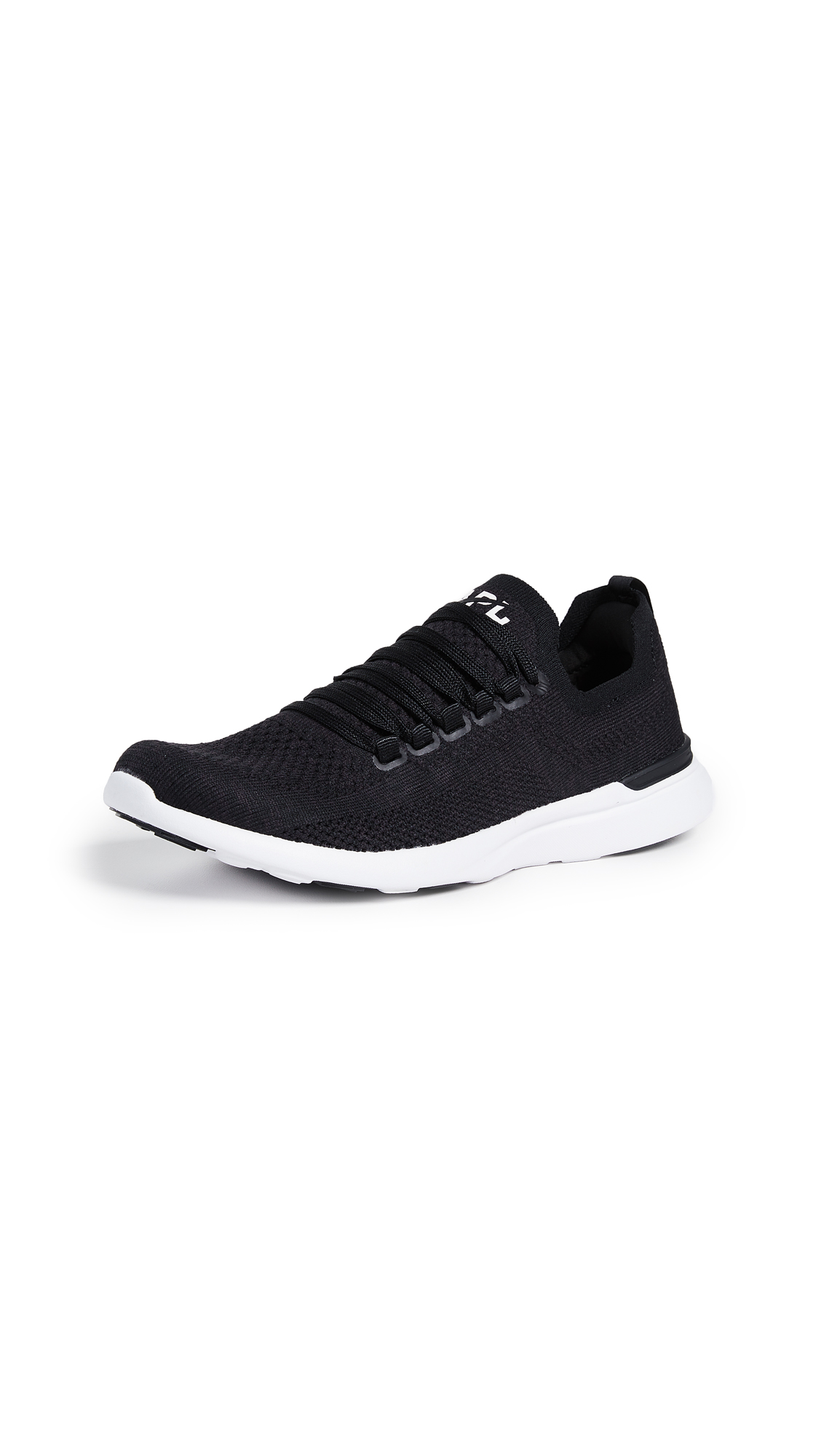 APL: Athletic Propulsion Labs TechLoom Breeze Sneakers - Black/Black/White
