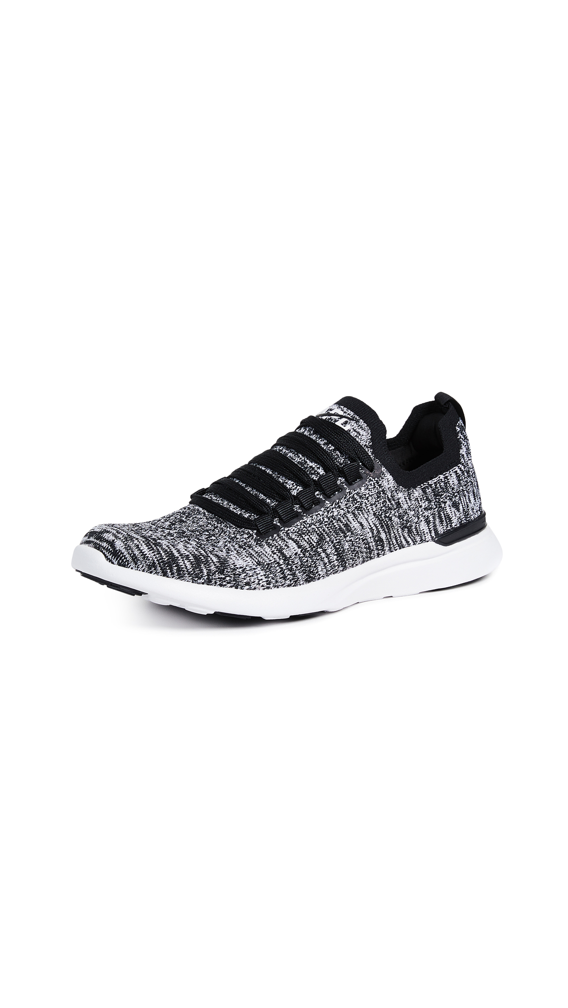 APL: Athletic Propulsion Labs TechLoom Breeze Sneakers - Black/White/Melange