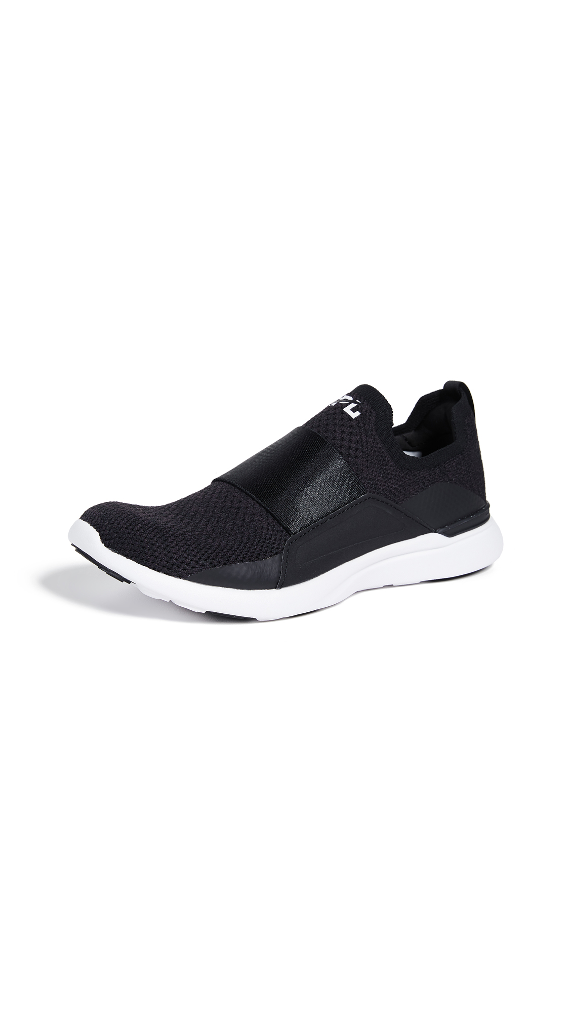 APL: Athletic Propulsion Labs TechLoom Bliss Sneakers - Black/Black/White