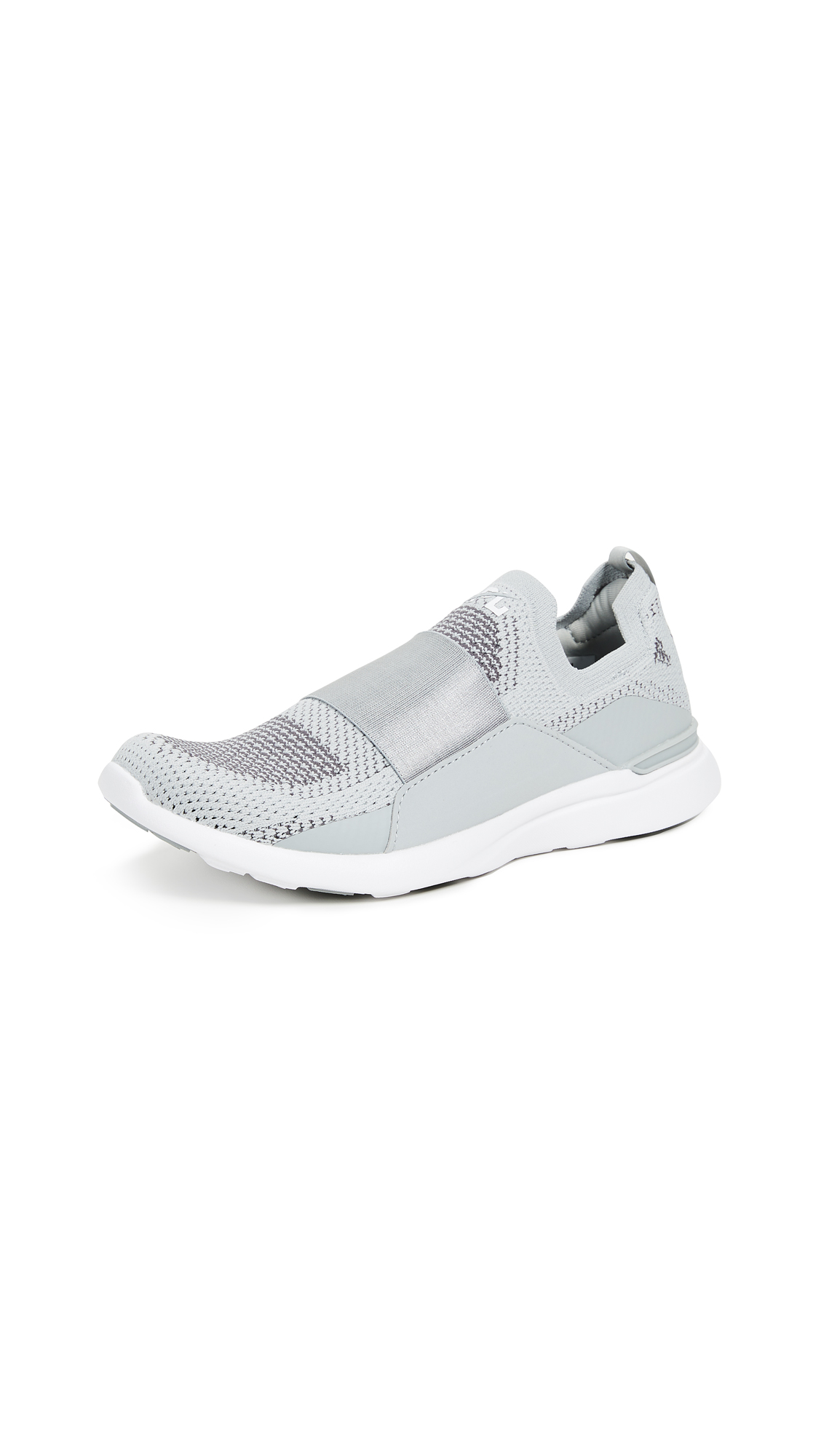 APL: Athletic Propulsion Labs TechLoom Bliss Sneakers - High Rise/Black Pearl/White